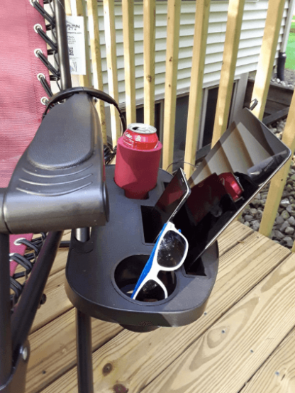zero gravity chair cup holder extension