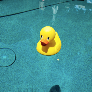 big rubber ducky