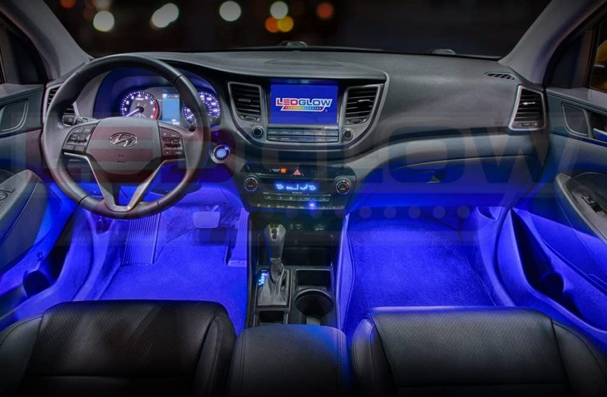 The LEDGlow Car Ambient Lighting Is Only For Those Who Can Handle It